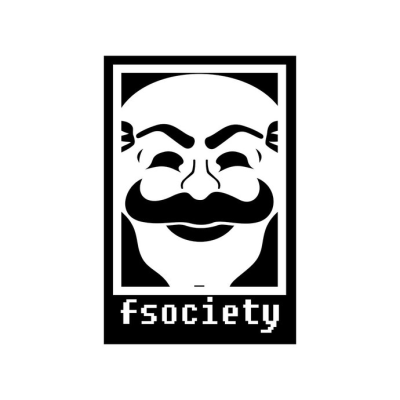 Mr Robot Fsociety Graphics design SVG DXF EPS by vectordesign on