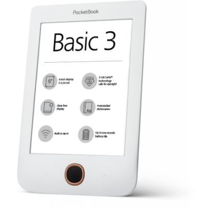 PocketBook Basic 3 is a simple way to a great passion. - PocketBook
