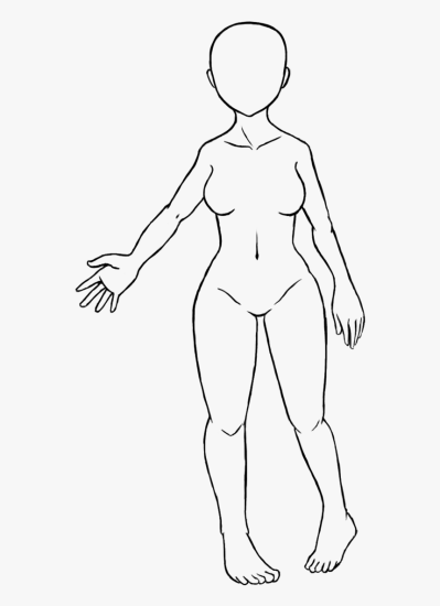 Trends For Blank Girl Face Coloring Pages - Female Body Base ...