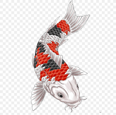 Butterfly Koi Tattoo Artist Sleeve Tattoo, PNG, 612x816px, Koi ...