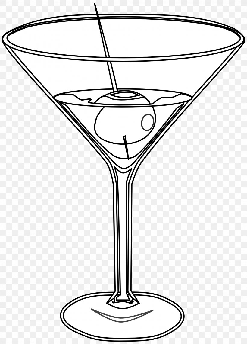 Martini Cocktail Glass Drawing Clip Art, PNG, 1969x2735px, Martini ...