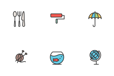 Download Household Objects Icon pack - Available in SVG, PNG, EPS ...
