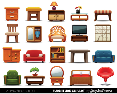 furniture messy clipart - Google Search | Muebles de barbie