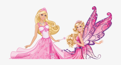 Barbie Fashion Fairytale Png Transparent PNG - 1332x357 - Free ...