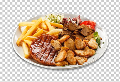French Fries Steak Frites Hamburger Pizza Beefsteak PNG, Clipart ...