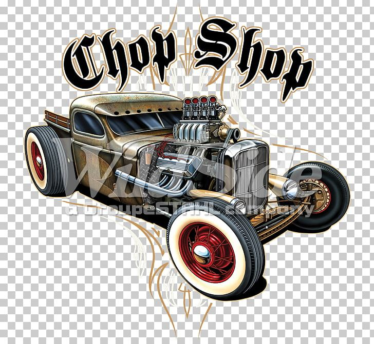 Vintage Car Rat Rod Automotive Design Hot Rod PNG, Clipart ...