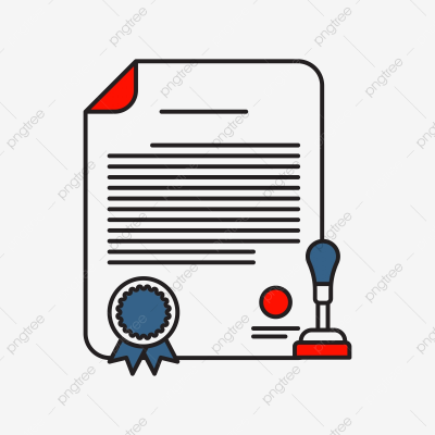 Certificate Icon | Business And Finance With Outline Filled Style ...