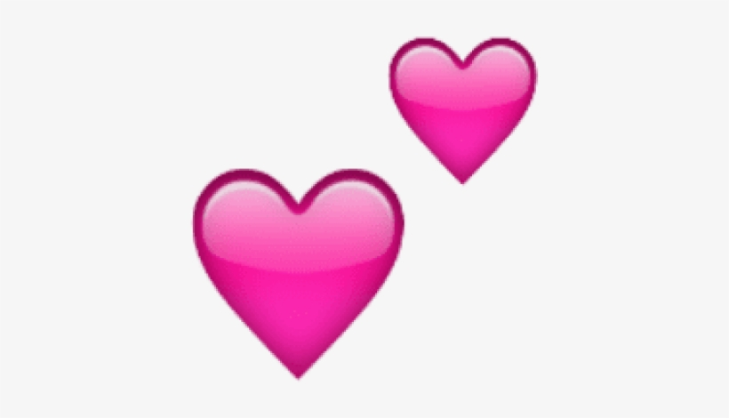 Free Png Ios Emoji Two Hearts Png Images Transparent - 2 Pink ...