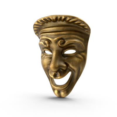 Comedy Theatre Mask PNG Images & PSDs for Download | PixelSquid ...