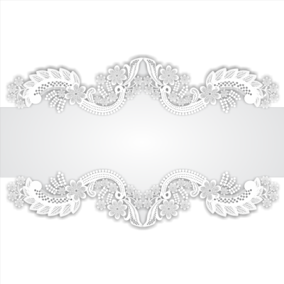 Lace Border, Card Vector, Border Vector, Lace Vector PNG ...
