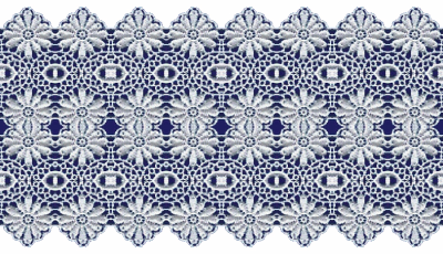 Blue Lace Transparent & PNG Clipart Free Download - YWD