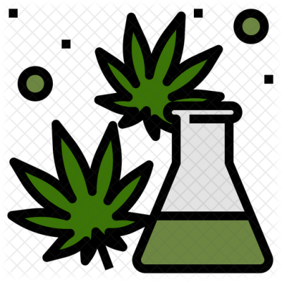 Cannabis Extraction Icon of Colored Outline style - Available in ...