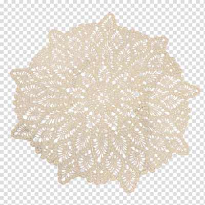 Doily Lace Textile Paper Crochet, lace transparent background PNG ...
