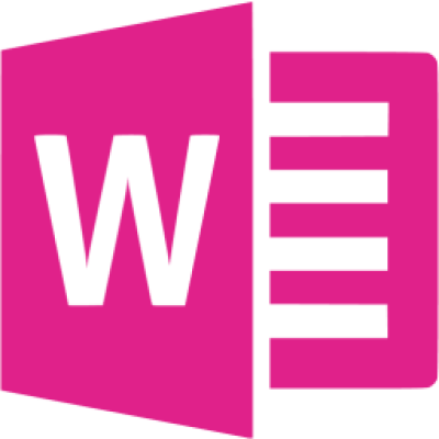 Barbie pink microsoft word icon - Free barbie pink office icons