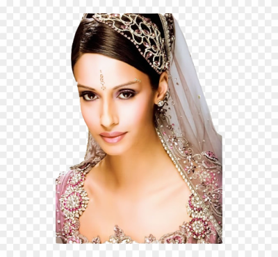 Indian Wedding Reception Hairstyle Hollywood Official - Indian ...