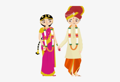 Hindu Clipart Couple - Vector Wedding Hindu Clipart - Free ...