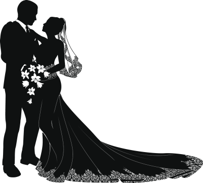 Wedding Bridegroom couple Clip art - bride groom png download ...