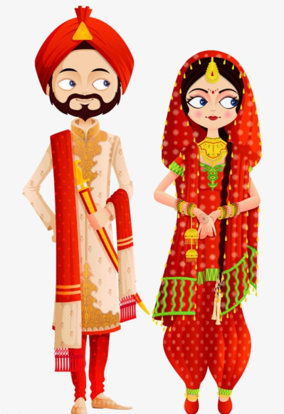 Indian Wedding PNG, Clipart, Bride, Groom, Indian, Indian Bride ...