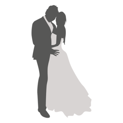 Wedding couple dancing silhouette 3 - Transparent PNG & SVG vector ...