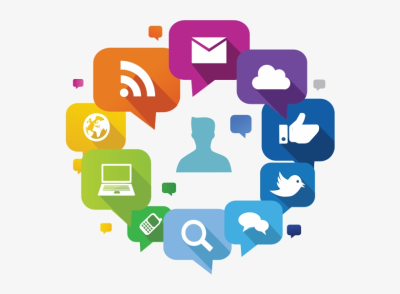 Social Media Marketing Graphic - Communication Channel - 600x578 ...