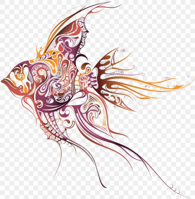 Tattoo Artist Fish Drawing Clip Art, PNG, 6177x6302px, Tattoo ...