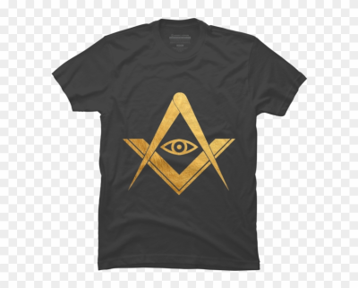 Golden Freemasonry Masonic Eye Symbol - Masonic Symbol, HD Png ...