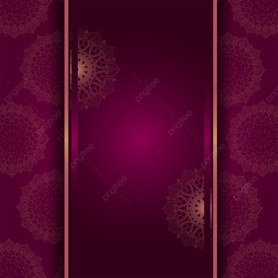 Mandala Background In Maroon, Png, Mandala, Wedding PNG and Vector ...