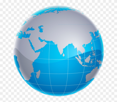 World Globe - High Resolution World Vector, HD Png Download ...