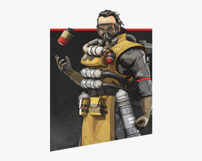 Apex Legends Characters Caustic, HD Png Download , Transparent Png ...