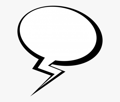 Speech Bubble Png Transparent Image - Comic Transparent Background ...