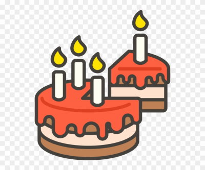 Birthday Cake With Candle Emoji Icon - Emoji Kue Ulang Tahun, HD ...