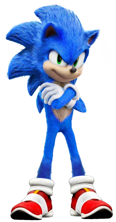 Sonic The Hedgehog Movie Transparent Images PNG