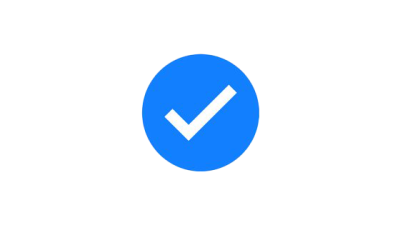 Facebook Verified Badge Transparent PNG