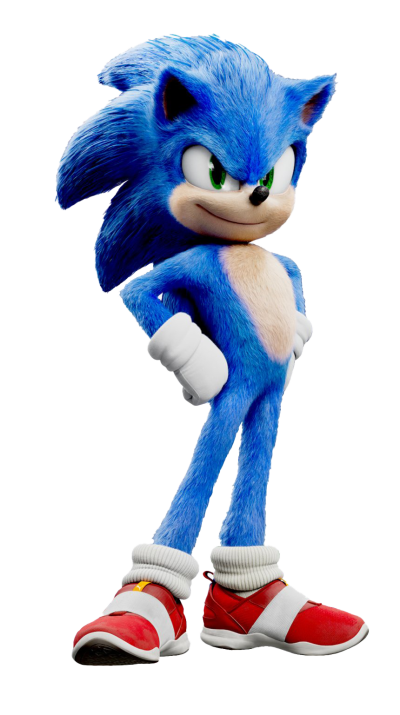 Sonic The Hedgehog Movie PNG Transparent