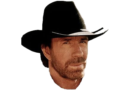 Chuck Norris Transparent Background
