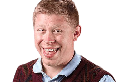 Bad Luck Brian PNG Transparent Image