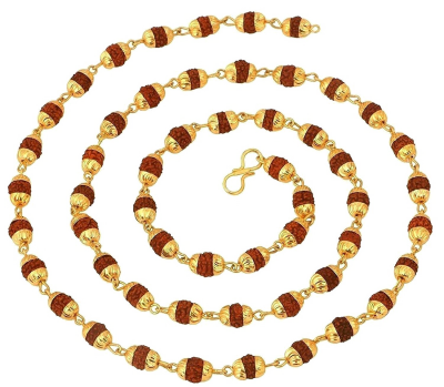 Rudraksha Rakhi Transparent Background