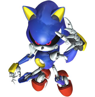 Metal Sonic The Hedgehog PNG Clipart