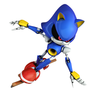 Metal Sonic The Hedgehog PNG Photos