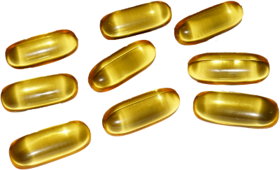 Dietary Supplement Fish Oil Capsule Transparent Background