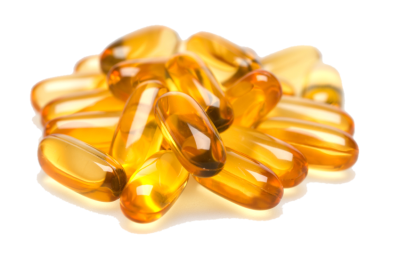 Dietary Supplement Fish Oil Capsule PNG Transparent Image