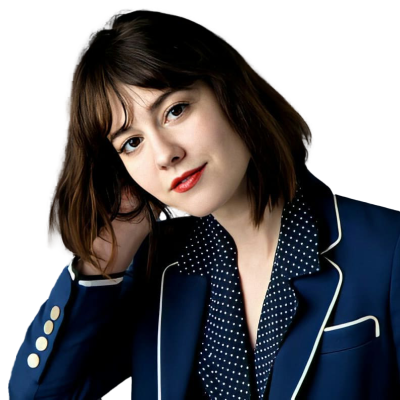 Mary Elizabeth Winstead Blue Coat PNG