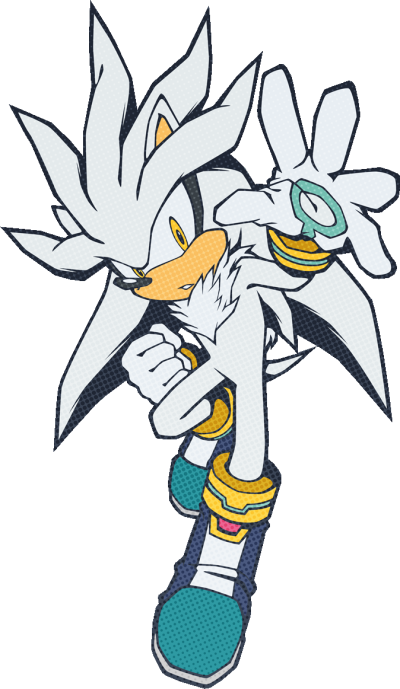 Silver The Hedgehog PNG Pic