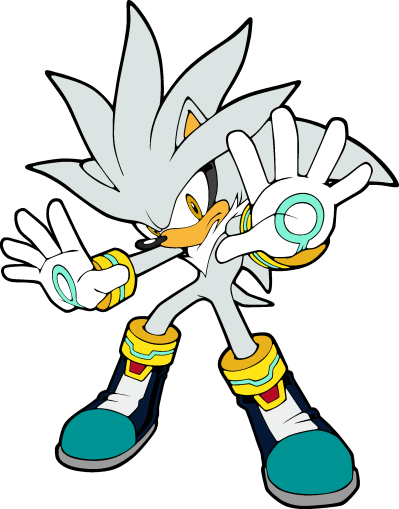 Silver The Hedgehog PNG Picture