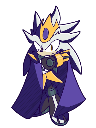 Silver The Hedgehog PNG Transparent HD Photo