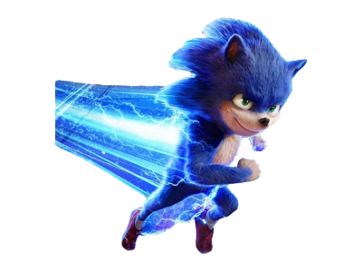 Sonic The Hedgehog Movie PNG Pic