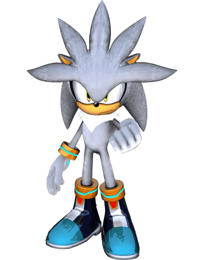 Silver The Hedgehog Sonic PNG Transparent Image