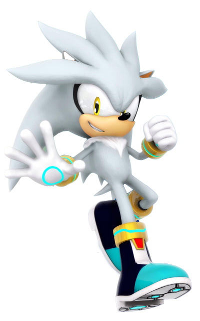 Silver The Hedgehog Transparent Background
