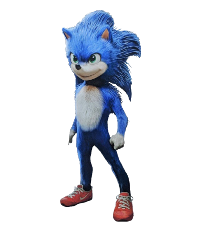 Sonic The Hedgehog Movie PNG Transparent Image