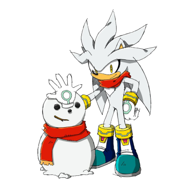 Silver The Hedgehog PNG Transparent Image